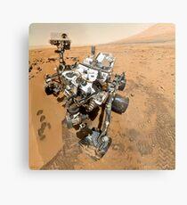 NASA's Curiosity Self-Portrait Metal Print