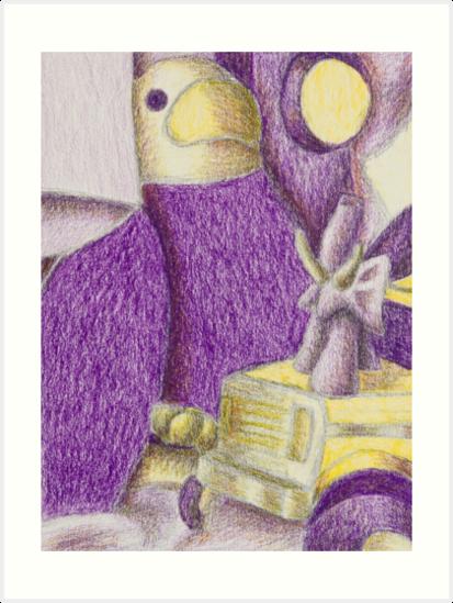 Shades Of Purple Still Life by jkartlife