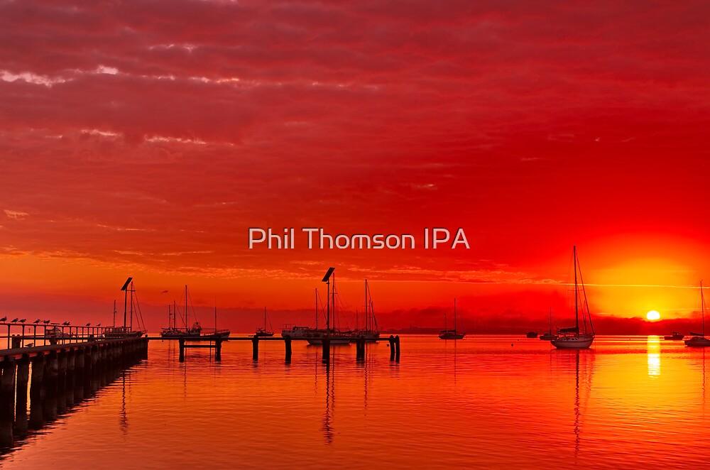 """""""Hot Autumn Dawn"""" by Phil Thomson IPA"""