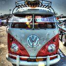 VW Surfer's Van by Edith Reynolds