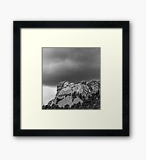 Mount Rushmore National Memorial .2 Framed Print