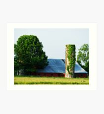 """ A Viney Tower "" Art Print"