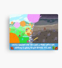 The Lorax Canvas Print