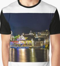 Blue Mountain Village at night Graphic T-Shirt