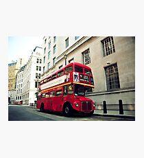 Routemaster Photographic Print