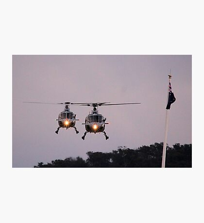 Royal Australian Navy Helicopters, Skyfire 2013 Canberra Australia  Photographic Print