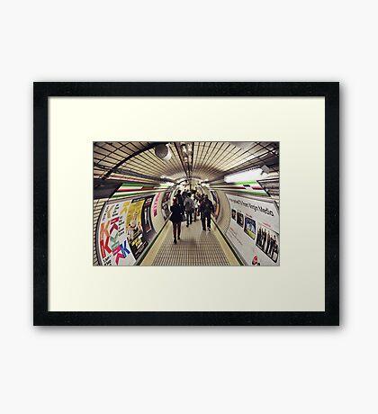 Tube Framed Print
