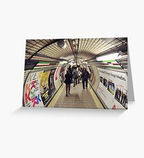 Tube Greeting Card