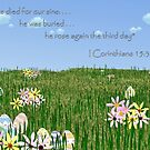 He Rose Again the Third Day! by aprilann