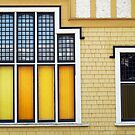 Church Windows  by Ethna Gillespie