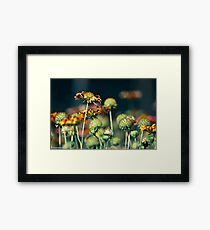 Happiness is...take care your people...Got featured Work Framed Print
