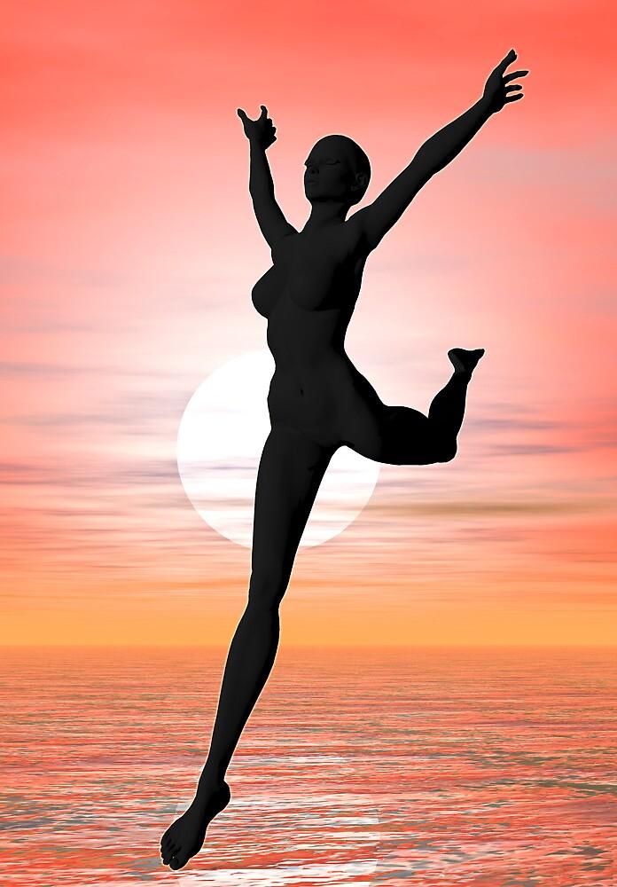 Dawn dancer by Norma Cornes