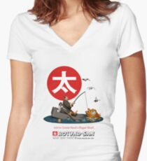 We're Gonna Need a Bigger Boat Women's Fitted V-Neck T-Shirt