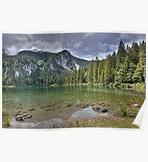 Lake of Tovel - Italy Poster