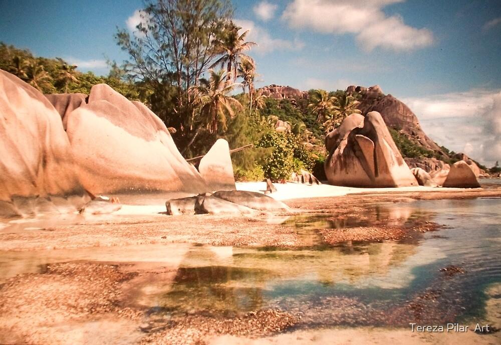 Seychelles. Anse Source d' Argent . La Digue. by terezadelpilar ~ art & architecture