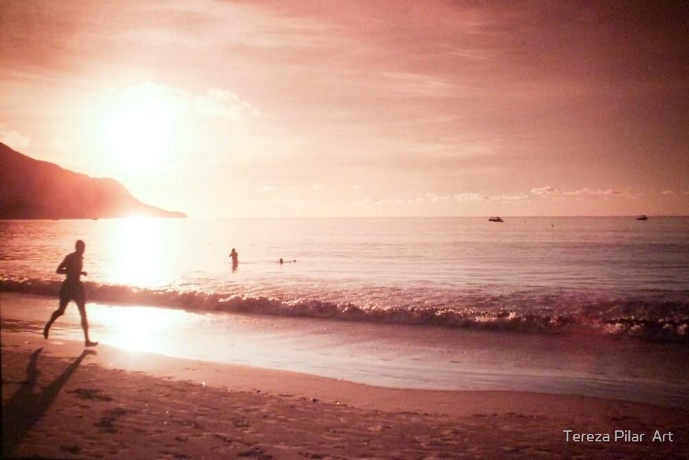 Seychelles sunset. by terezadelpilar ~ art & architecture