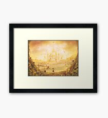 Golden Hyrule  Framed Print