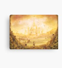Golden Hyrule  Canvas Print