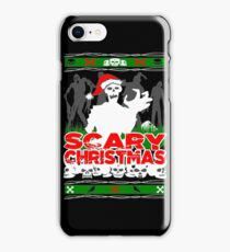 Scary Christmas Zombies iPhone Case/Skin