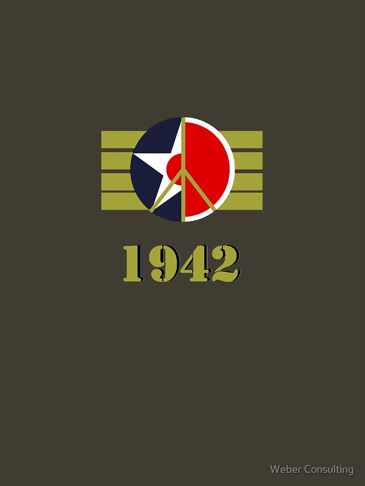 1942 - US Army Air Corps/Japanese Airforce Peace Logo by HalfNote5