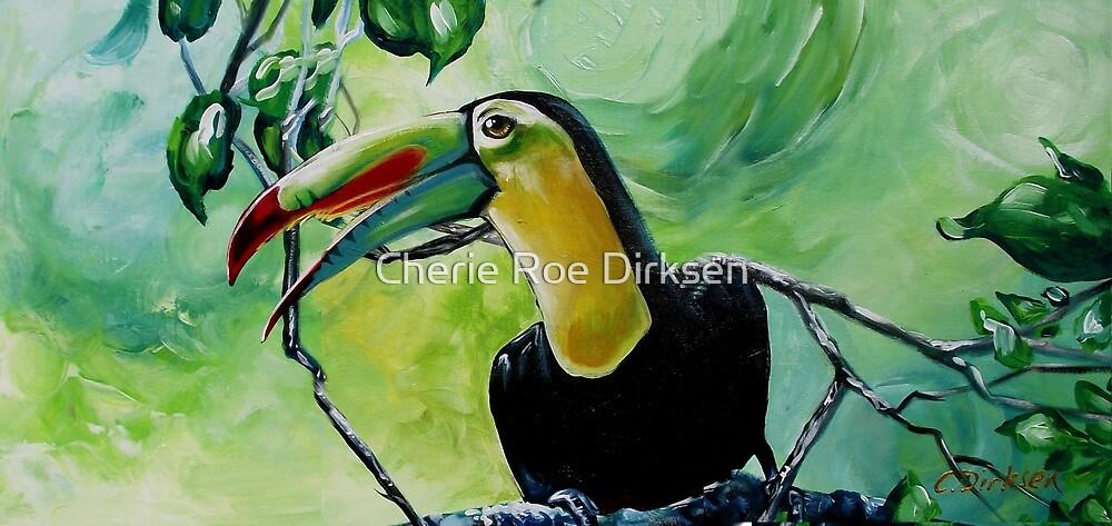 Toucan on a Branch by Cherie Roe Dirksen