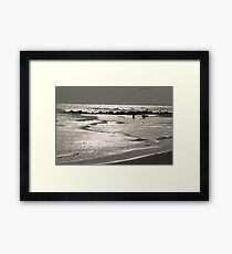 Lonely Ocean Framed Print
