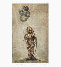 Balloon Fish (Sepia) Photographic Print