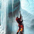 Stunning Ice Climber iPad Case by swintona95