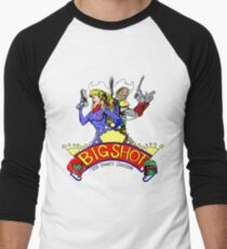 Big Shot Bounty Hunters Men's Baseball ¾ T-Shirt
