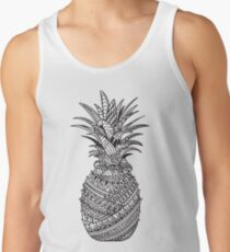 Pineapple Wrap | black & white Tank Top
