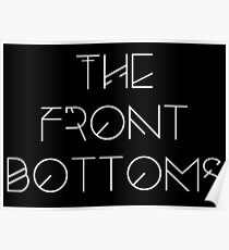 The Front Bottoms - White Poster