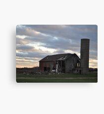 Barn- Northwest Indiana Canvas Print