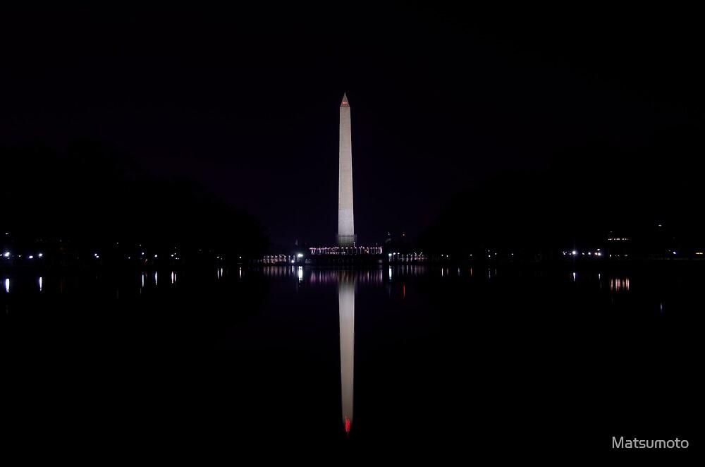 The Washington Monument Renovation 2013 by Matsumoto