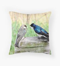 """"""" If I told you once.... I told you twice """" Throw Pillow"""