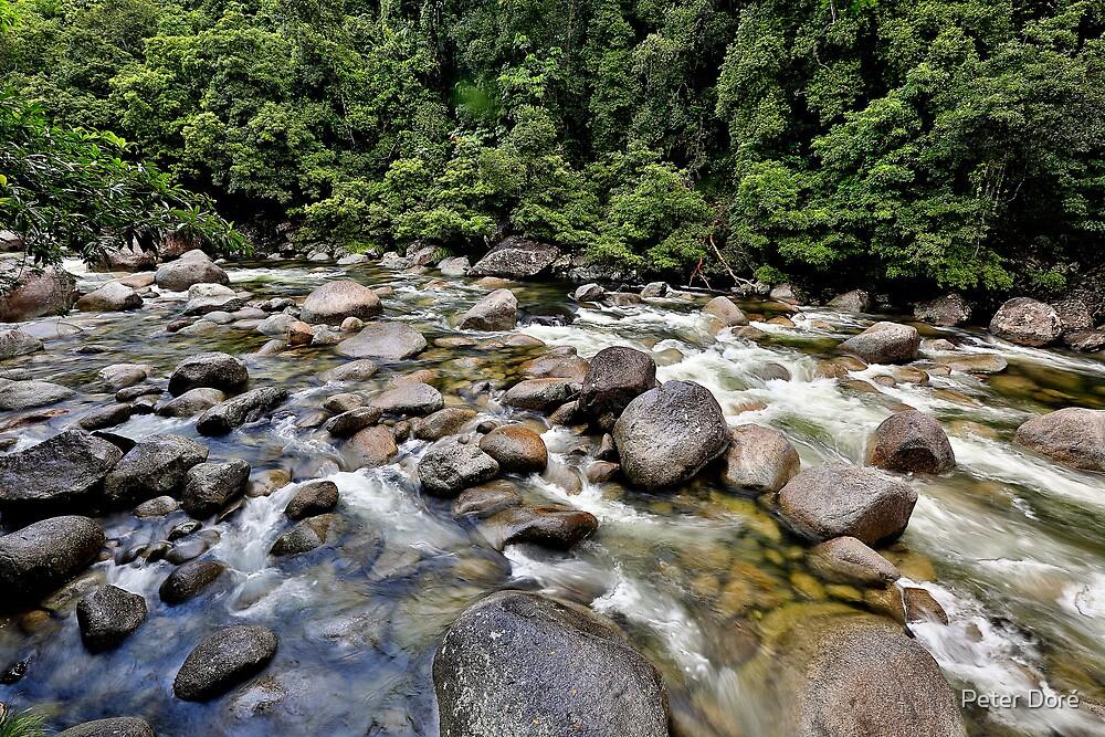 A river runs through it.... by Peter Doré