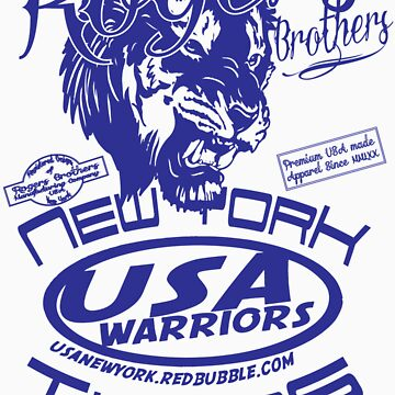 usa warriors tiger by rogers bros by usanewyork