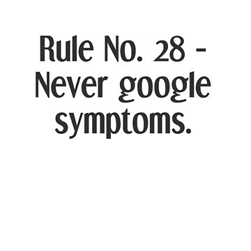 Life Rules. 28 - Symptoms by TeddyPleb