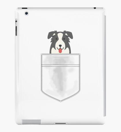 Pocket Border Collie Dog iPad Case/Skin