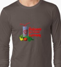 Juicers are Better Lovers by Valxart.com Long Sleeve T-Shirt