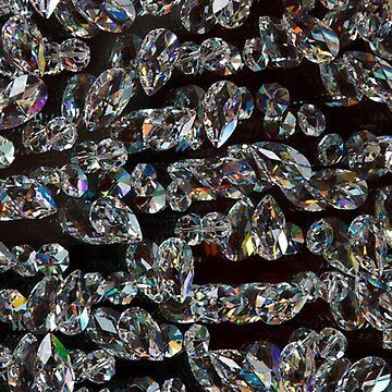 Gemstone Diamond Crystals by LittleCsDesigns
