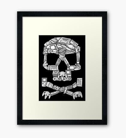 Game or Die Framed Print