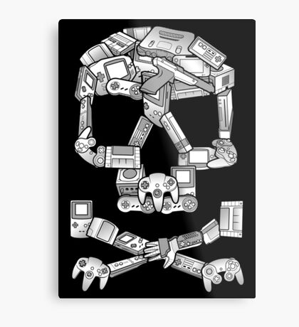 Game or Die Metal Print
