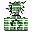Camera SLR Flash_Green by Phillip Shannon