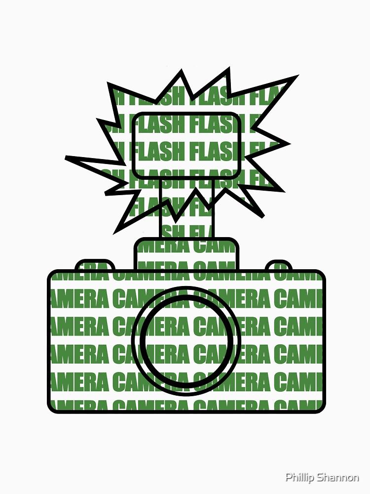 Camera SLR Flash_Green von PhillipShannon