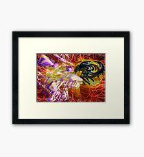 ~reptiles & dust~ Framed Print