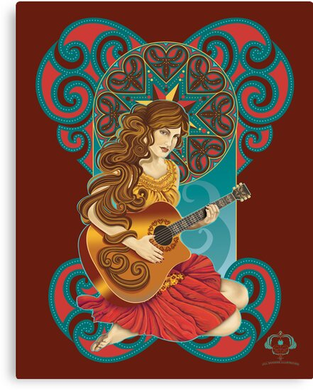 Acoustic Girl by Jill Sanders