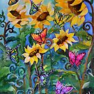 Flight of the Whimsical Butterfly by Robin Pushe'e