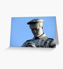 153 - PENYCAE WAR MEMORIAL, NEAR WREXHAM, WALES (D.E. 2013) Greeting Card