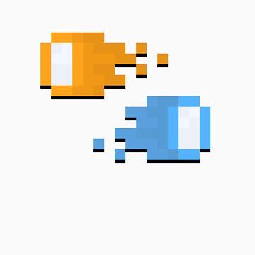 Pixel Portal W/o circle background by Cyntain