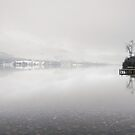 Snow Morning on Ullswater by Brian Kerr